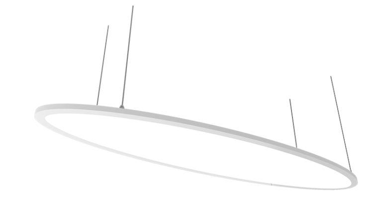 LED Dekopanel Elips