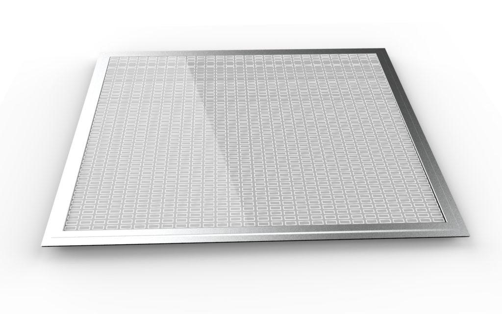 LED Panel Desenli Dikdörtgen
