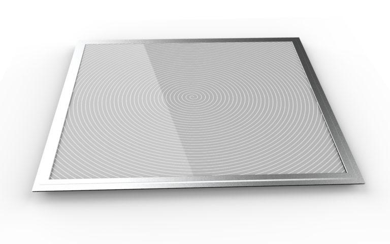 LED Panel Desenli Spiral