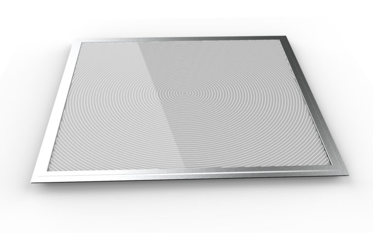 LED Panel Desenli Yuvarlak